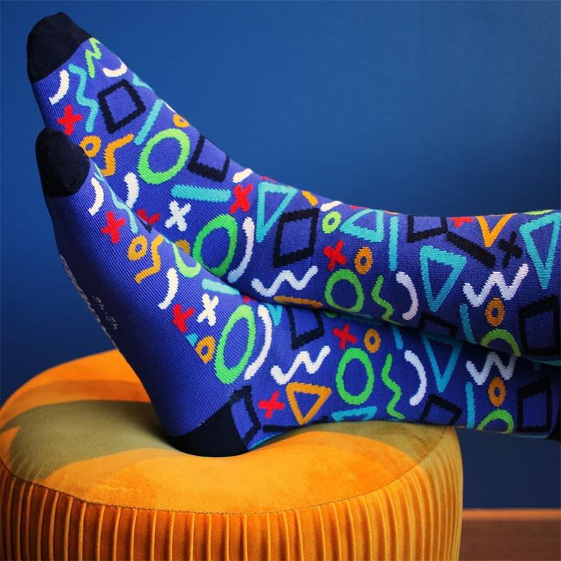 Chaussettes fantaisie Crochepied Aiko Nitro