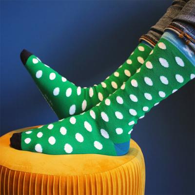 Chaussettes à pois...