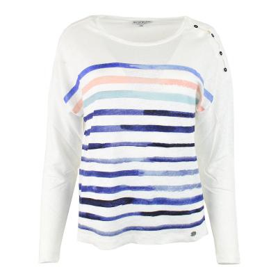 T-shirt en Lin Mat de...