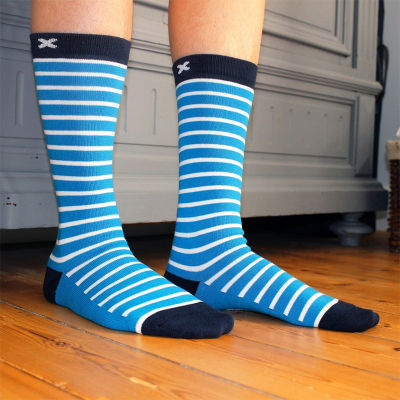 Chaussettes rayées...