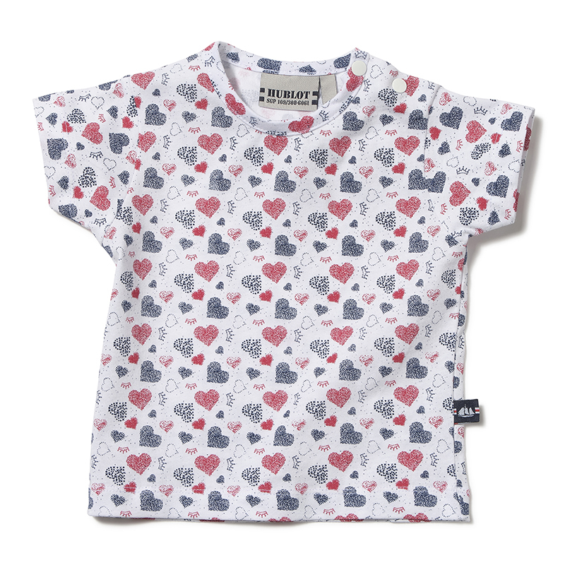 T-shirt Hublot Yara Coeur