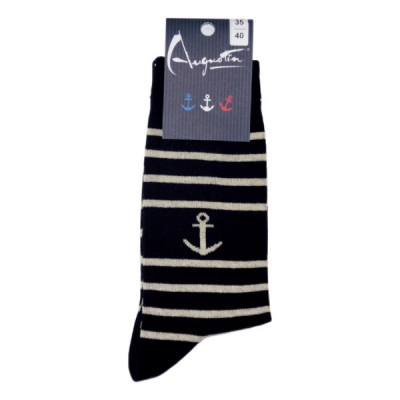 Chaussettes rayées Augustin...