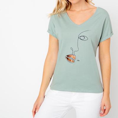 T-shirt Tbs Chelyver
