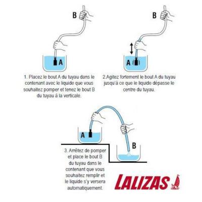 Tuyau pompe de transfert à bille (4)