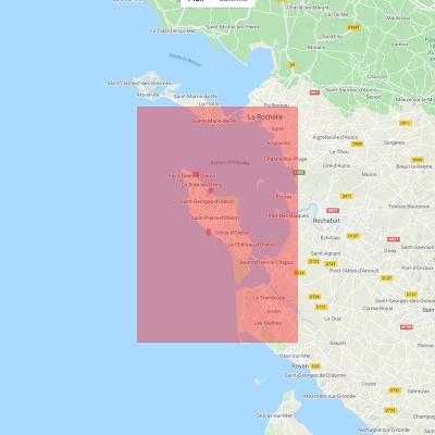 Carte marine Shom 7405L - De La Rochelle à la Pointe de La Coubre (3)