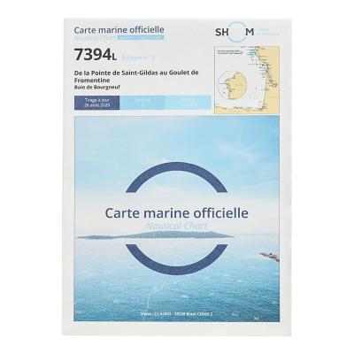 Carte marine Shom 7394L -...