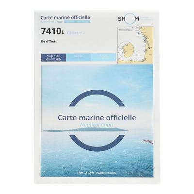 Carte marine Shom 7410L -...