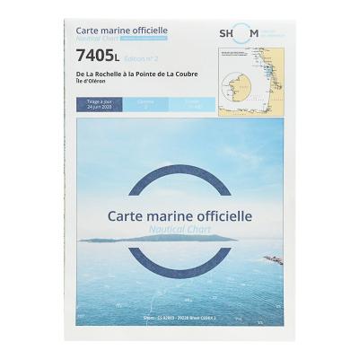 Carte marine Shom 7405L - De La Rochelle à la Pointe de La Coubre (2)