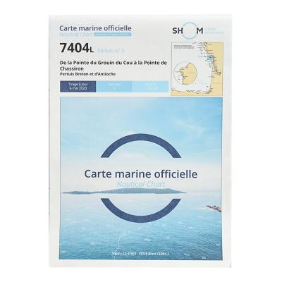 Carte marine Shom 7404L -...