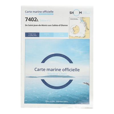 Carte marine Shom 7402L -...