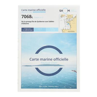 Carte marine Shom 7068L- De...