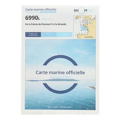 Carte marine Shom 6990L -...