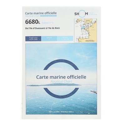 Carte marine Shom 6680L -...