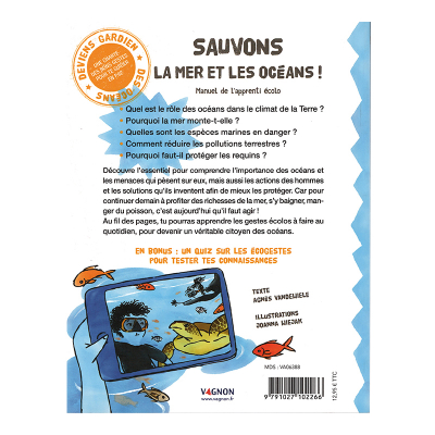 Manuel de l'apprenti écolo - Sauvons la mer et les océans ! (3)