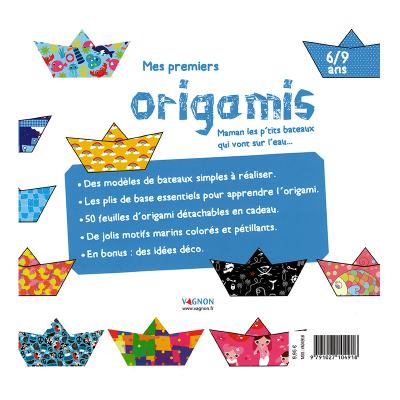Mes premiers Origamis - Les petits bateaux (3)