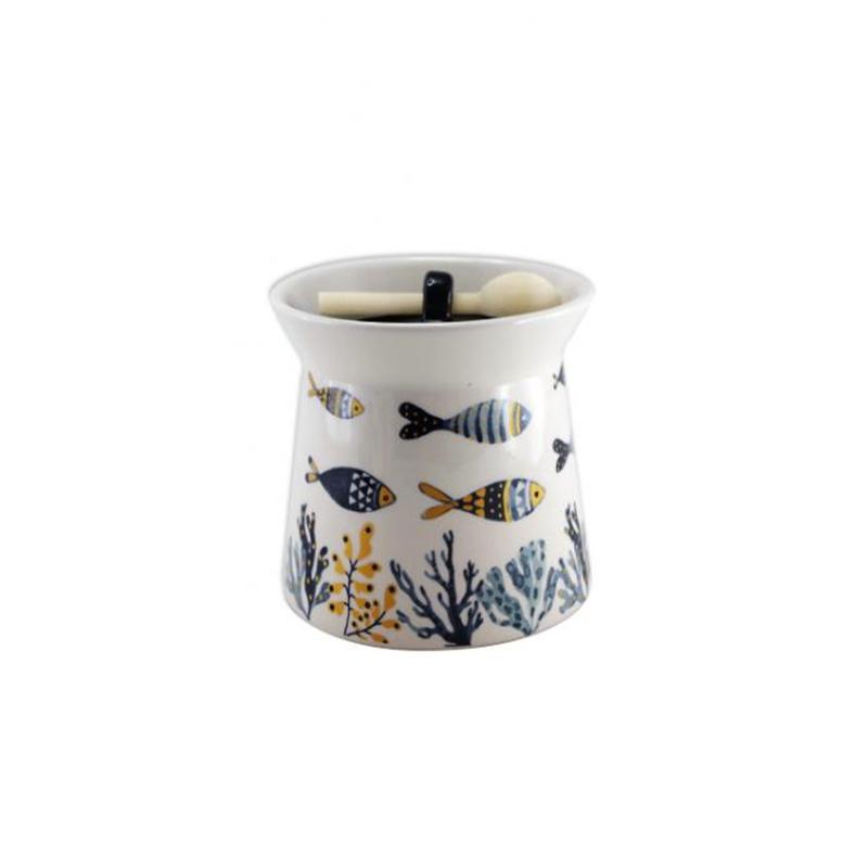 """Pot à sel + Cuillère collection """"Jania"""""""