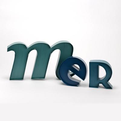 """Lettres murales """"Mer"""" (3)"""