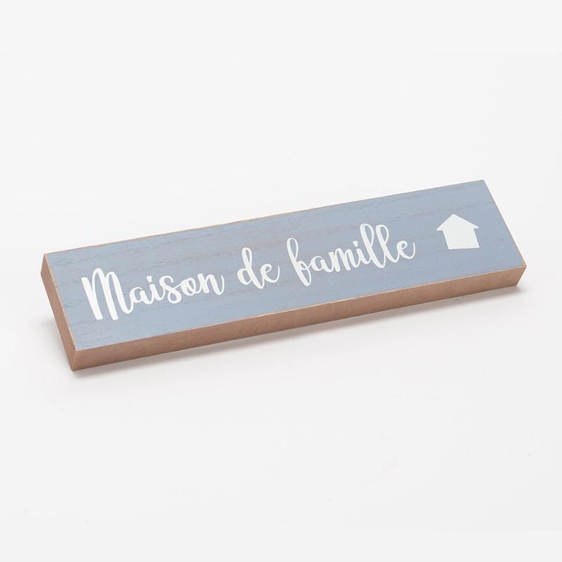 """Plaque murale """"Maison de Famille"""""""