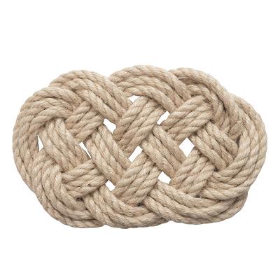 Dessous de plat en corde...