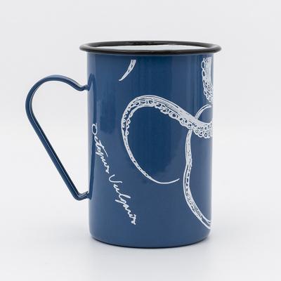 Mug long émaillé Poulpe (3)
