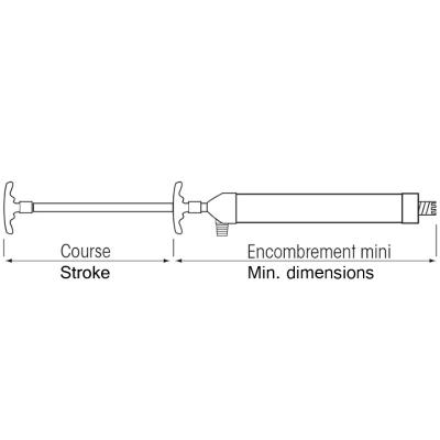 Pompe seringue d'assèchement à main (3)
