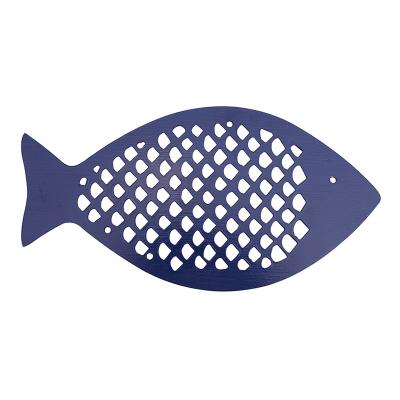Dessous de plat Poisson bleu