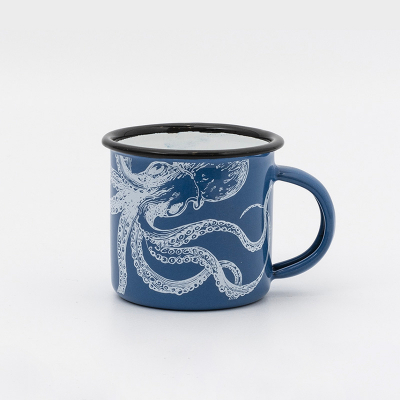 Mini mug émaillé Poulpe
