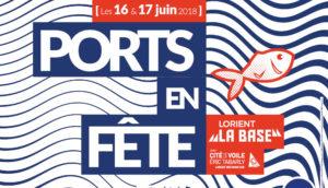 Affiche Port en Fête - Lorient