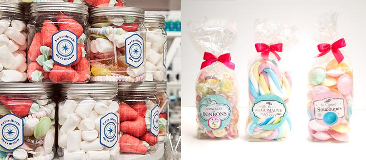 selection bonbons