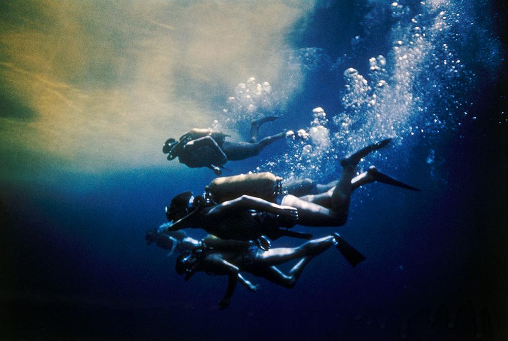 National Geographic - plongeurs à l'équateur
