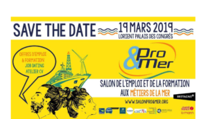 Salon Pro&Mer 19 mars à Lorient