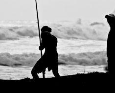 surfcasting - pêcher sur la plage