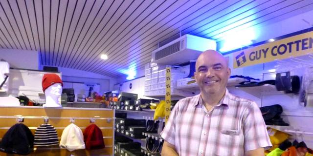 François Beneat, directeur général de la coopérative maritime d'Arcachon. © Photo Dubourg Bernadette
