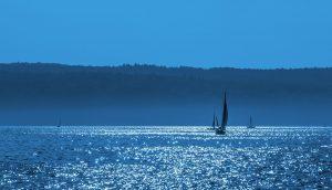 paysage de mer calme
