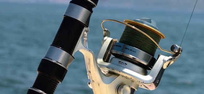 Moulinet de pêche - Derek John Lee - Licence CC