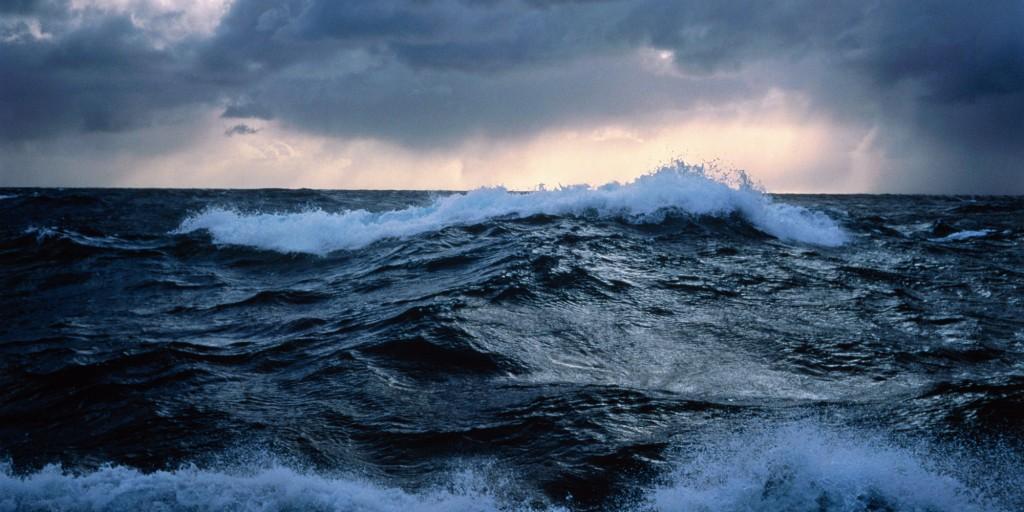 Océan pacifique, course en mer