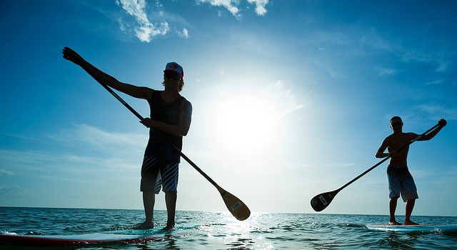 Du Stand Up Paddle - © Visit St. Pete/Clearwater - Licence CC
