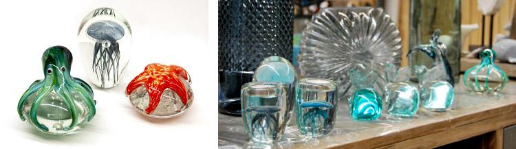 objets déco en verre