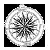 symbole rose des vents