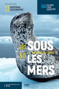 Affiche - Expo Sous les mers - Bordeaux