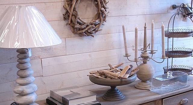 Des articles en bois flotté © Comptoir de la mer Loctudy