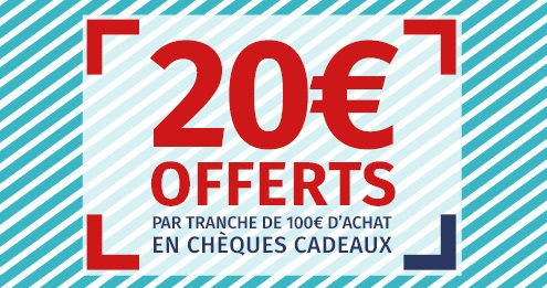 Comptoir de la mer : 20 euros offerts par tranche de 100 euros d'achat