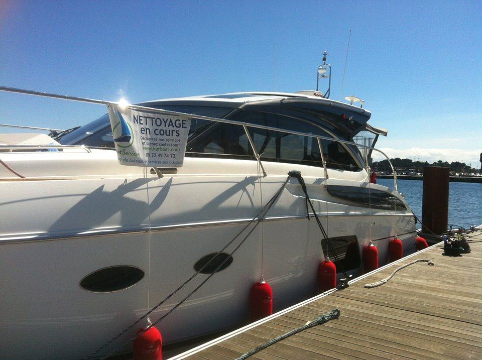 Kerboat - nettoyage de bateaux