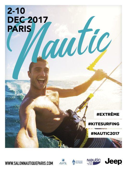 salon nautic 2017 - affiche