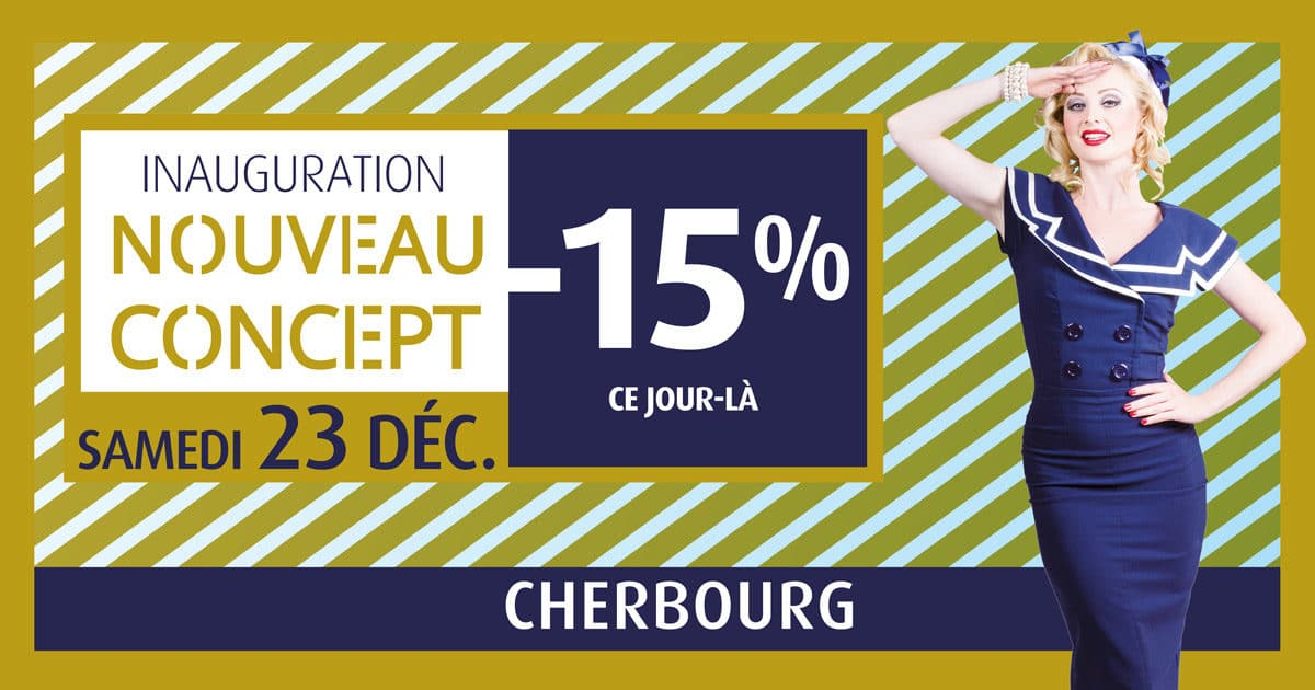 Comptoir de la mer Cherbourg - nouveau concept magasin