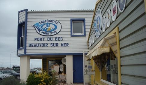 Magasin Comptoir de la mer à Beauvoir-sur-Mer -Vendée