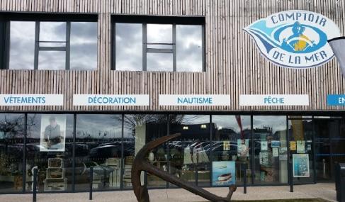 Magasin Comptoir de la mer à Étaples - Pas de Calais