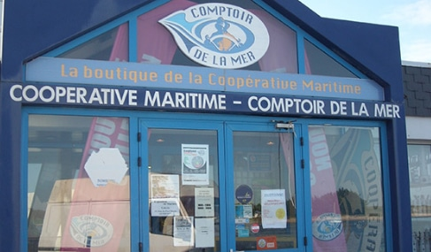 Magasin Comptoir de la mer à Étel - Morbihan