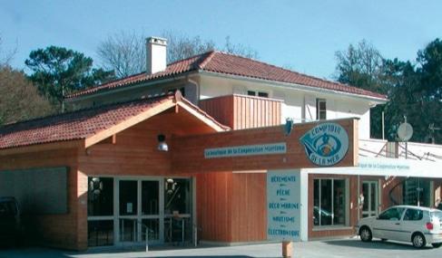 Magasin Comptoir de la mer à Grand-Piquey - Gironde