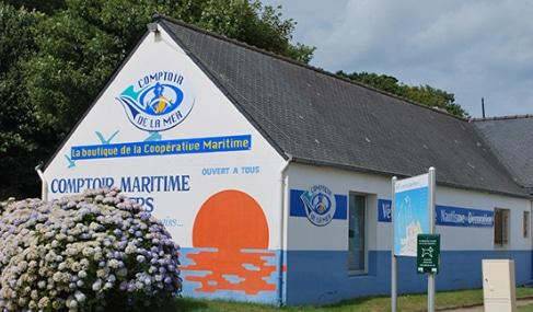 Magasin Comptoir de la mer à L'Aberwrac'h - Finistère